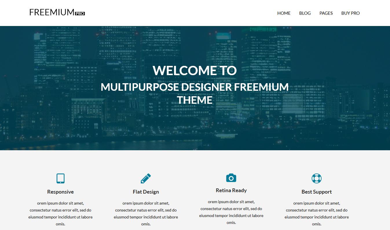 freemium pro front