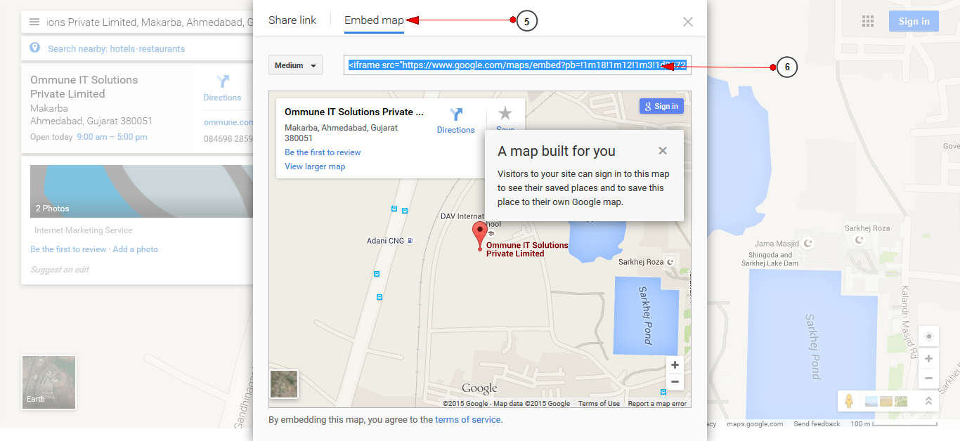 How-to-create-google-Map-iframe-Code3